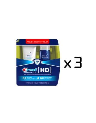 Pasta wybielająca Crest Pro-Health HD daily Two-Step Toothpaste System (Cena dotyczy trzech zestawów)