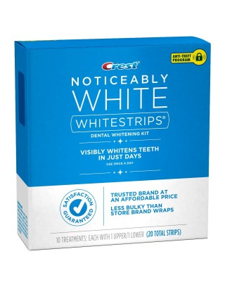 Paski wybielające Crest Whitestrips Noticeably White