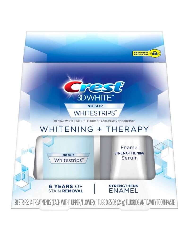 CREST 3D WHITE WHITESTRIPS WHITENING + THERAPY DENTAL