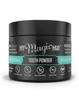 Proszek do wybielania zębów, My Magic Mud  Spearmint (30g)