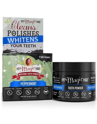 Proszek do wybielania zębów, My Magic Mud Peppermint (30g)