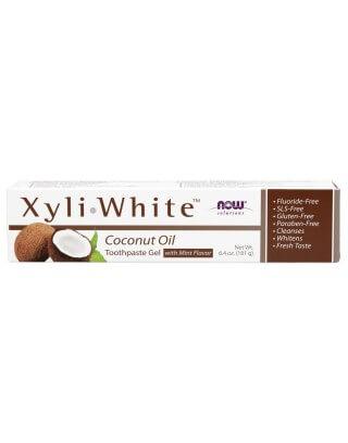 Now Foods XyliWhite, Pasta do zębów/żel  , Refreshmint,  181 g.