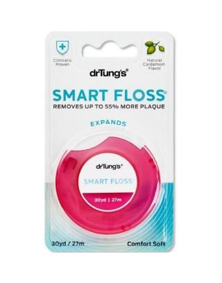 Dr. Tung's, Smart Floss, naturalny aromat kardamonu, (30 m)